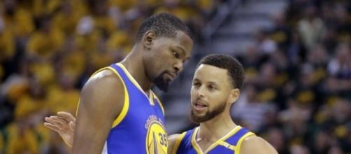 Durant scores 38 points, Warriors beat Jazz to take 3-0 lead ... - inquirer.net