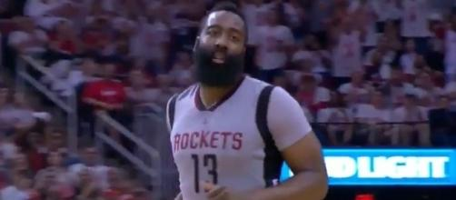 Harden scored 28 points, Youtube, NBA Conference channel https://www.youtube.com/watch?v=xtNlYtfcQAM