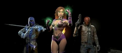 Injustice 2 Trailer Reveals First Wave of DLC with Starfire, Red Hood - gamerant.com