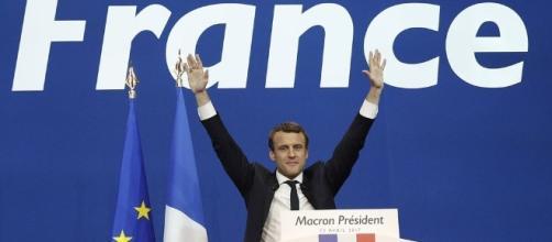 Macron es el nuevo dirigente de Francia