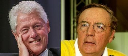 Photo Bill Clinton by Chris Savas/CC BY-SA 4.0 - James PatterSon by Blaues Sofa/CC BY SA 2.0