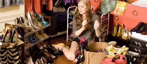 Rebecca Bloomwood in I love shopping. Photo by elisabettabertolini.com