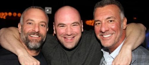 The Ferrita brothers and UFC President Dana White | BSO - blacksportsonline.com