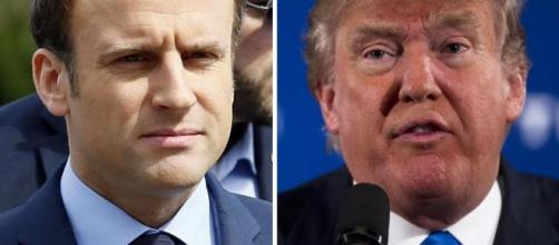 Trump says he looks 'very much forward' to working with France's ... - bostonglobe.com