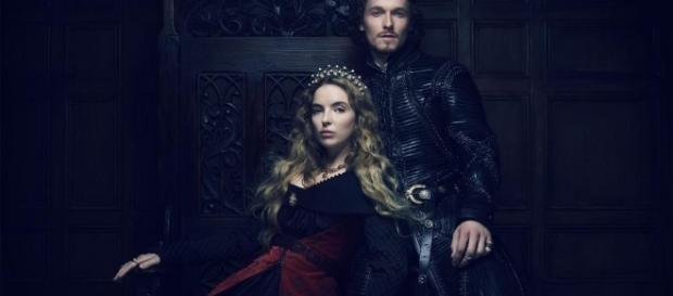 Henry and Lizzie stand side-by-side in 'The White Princess' [Image via Blasting News Library]