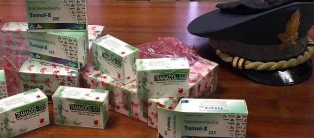 la droga del combattente sequestrata in Italia e diretta in Libia