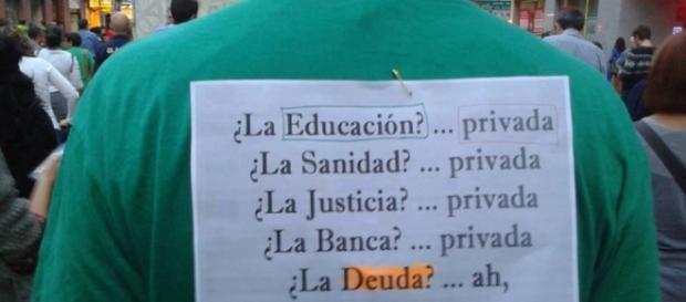 La #educación? Privada ¿La #sanidad? Privada ¿La #banca? Privada ... - pinterest.com