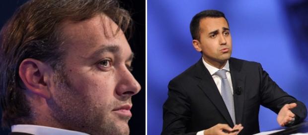 Matteo Richetti, Pd, e Luigi Di Maio, M5S, autori di dichiarazioni di apertura sulla legge elettorale