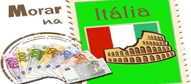 Morar na Itália em 2018 e receber em euros