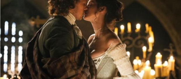 Outlander' Stars Sam Heughan And Caitriona Balfe Continue ... - inquisitr.com