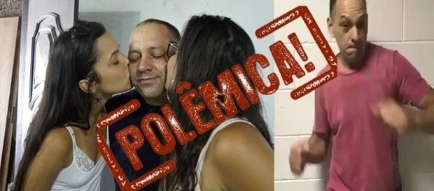 Volnei recebe crítica após pedir ajuda para as filhas