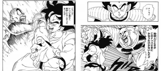 Yamcha en el capitulo 2 de Dragon Ball Gaiden