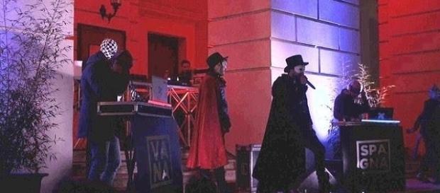 Zabatta Staila Crew durante il concerto di Capodanno 2017 a Cosenza.
