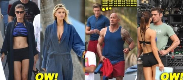 Zac Efron, Alexandra Daddario and Others Hard At Work On 'Baywatch ... - moejackson.com