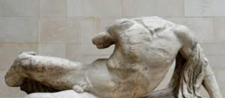 Greek pediment sculpture of the river god Ilissos FAIR USE art-theona.com Creative Commons