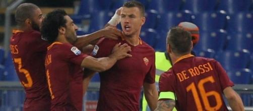 2-1 Inter: Dzeko and Manolas move hosts into third - latestmark.com