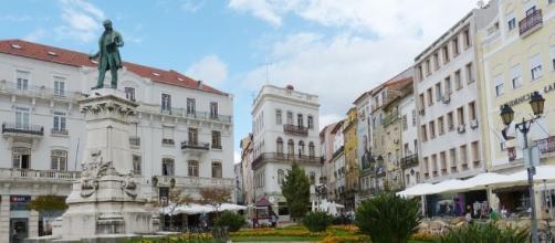 A cidade de Coimbra, uma das mais importantes de Portugal