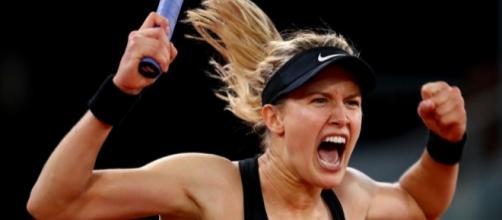Eugenie Bouchard at the Madrid Open 2017 (Image credit: Newsday - newsday.com)
