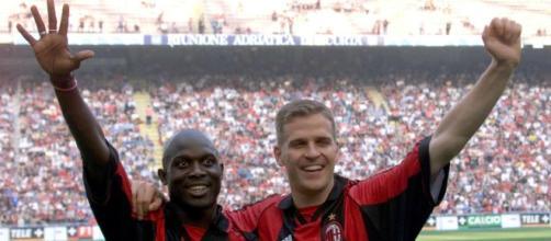 George Weah, campione d'Italia con il Milan nel 1996 e nel 1999