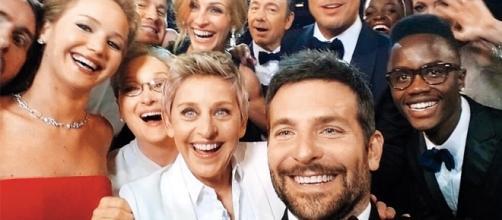 La selfie más compartida de la historia, hasta ahora