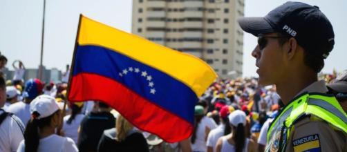 Las manifestaciones en Venezuela