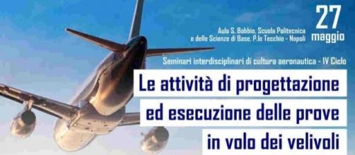 Locandina - IV Ciclo - Le attività di progettazione ed esecuzione delle prove in volo dei velivoli
