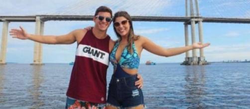 Manoel visitou Vivian em Manaus e curtiram muitos passeios juntos