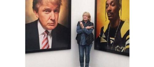 Martha Stewart flashes middle finger toward portrait of Trump ... - thestar.com