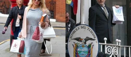 Pamela Anderson innamorata di Julian Assange