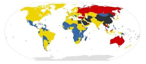 RSF manifiesta preocupación por la mengua de la libertad de prensa en todo el mundo