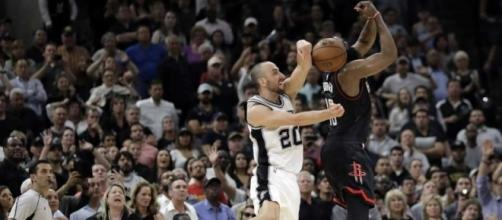 Spurs overcome Leonard injury, Harden to beat Rockets in OT - San ... - sfchronicle.com