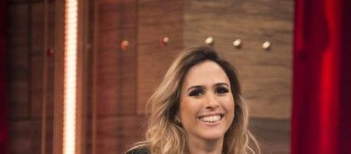 Tatá Werneck estreia como apresentadora de talk show