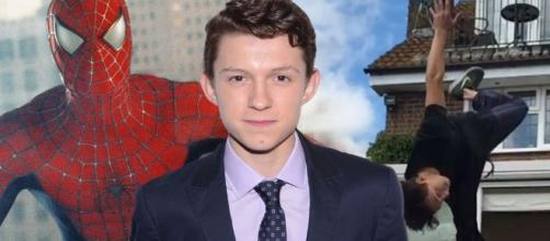 Tom Holland puts his superhero status aside to become a total performer. (via Blasting News library)