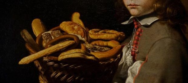 Bergamo-Accademia Carrara-Boy with a Basket of Bread-Evaristo Baschenis (1617-1677)-photo ©Piergiorgio Pescali_1