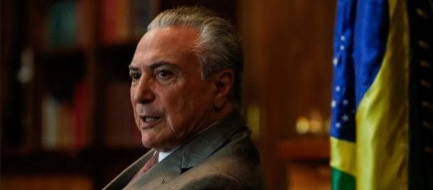 Presidente Michel Temer é acusado de aval para comprar o silêncio de Eduardo Cunha