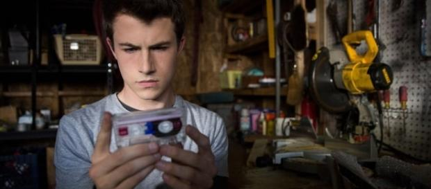 Clay Jensen protagonista de 13 reasons Why