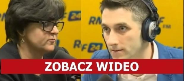 Gościem popołudniowej rozmowy w RMF FM była posłanka PO Joanna Kluzik-Rostkowska (źródło: RMF24).