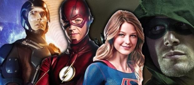 Grant Gustin Hints At Mega Crossover: Flash, Supergirl, Arrow ... - cosmicbooknews.com