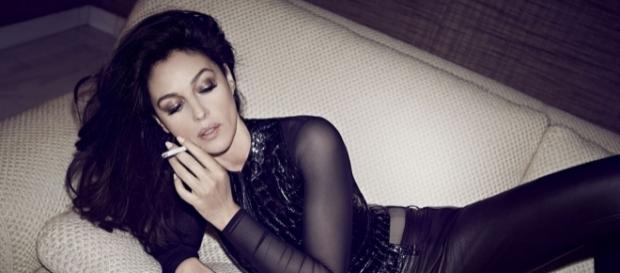 L'attrice italiana Monica Bellucci