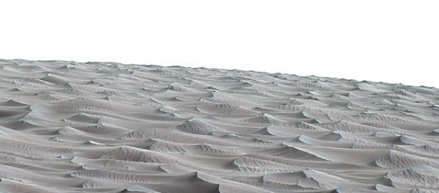 NASA Rover Samples Active Linear Dune on Mars   NASA - nasa.gov