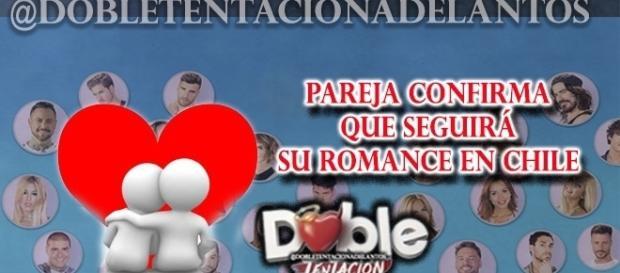 Nuevo romance se vuelve a Chile