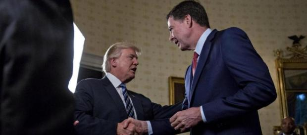 President Trump firing FBI director James Comey to end the Russia investigation is Obstruction of Justice. (Andrew Harrer-Pool/Getty Images)