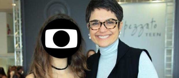 Sandra Annenberg e filha - Google