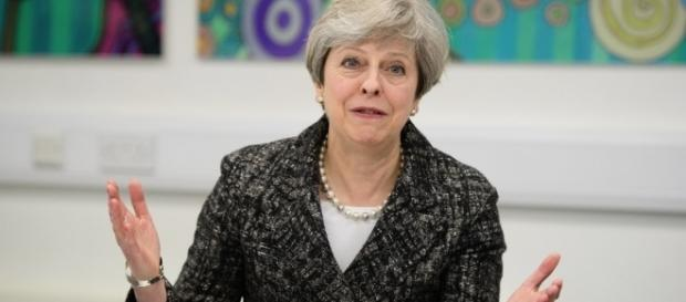 Theresa May Photos Photos - School Visit And Business Q&A With ... - zimbio.com