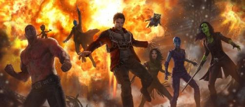 """Awesome concept art for Marvel's """"Guardians of the Galaxy Vol. 2 ... - insidethemagic.net"""
