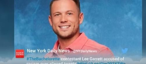 'Bachelorette' Contestant Is In Hot Water For Racist Remarks screencap from Wochit Youtube