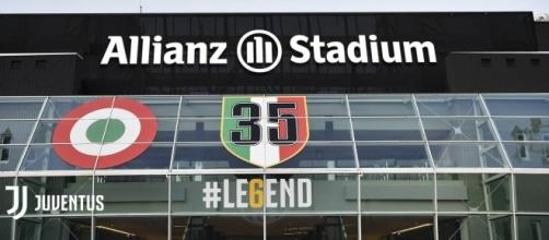 Juventus: dal 1° luglio 2017 lo stadio cambia nome.