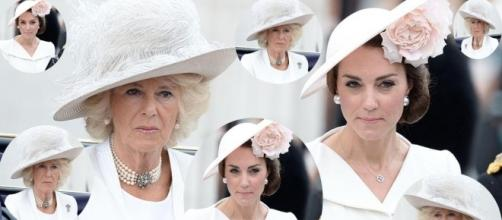 Kate Middleton and Camilla Parker-Bowles ensuing clash! (The Top Half/YouTube)