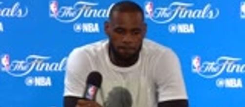 LeBron James' focus shifted from Finals to racism after vandalism at LA home. / from 'Denver Post' - denverpost.com