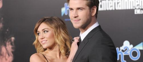 Miley Cyrus and Liam Hemsworth (Source: BN Library)